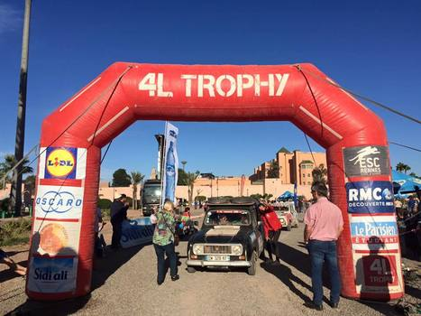 Arrivée du Trophy 2016 | Koter Info LLN - La Gazette du Raid 4L Trophy | Scoop.it