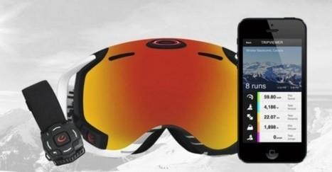 Innovation technologique : Le masque de ski devient connecté et interactif | Sport 2.0, Sport digital, applications sportives, réseaux sociaux sport, sport connecté | Scoop.it