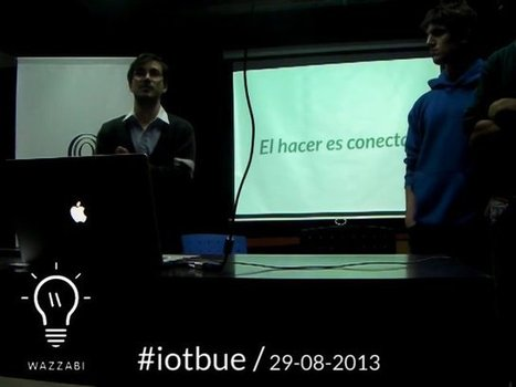Wazzabi en Internet of Things Buenos Aires – #iotbue - Valentín Muro | InternetofThings | Scoop.it