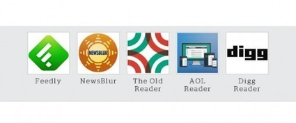 5 Google Reader alternatives compared [interactive] | Education For The Future | Scoop.it