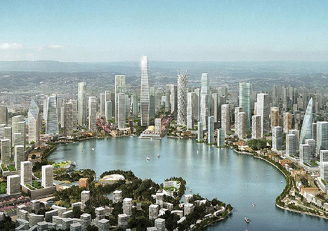 Is China's lakeside city the future of urban planning? | city greening | Scoop.it