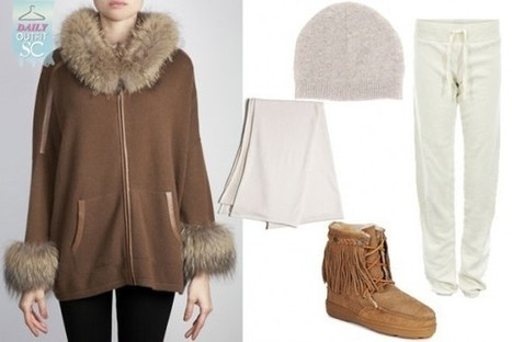 Daily Outfit: Cosy Cashmere | StyleCard Fashion Portal | StyleCard Fashion | Scoop.it