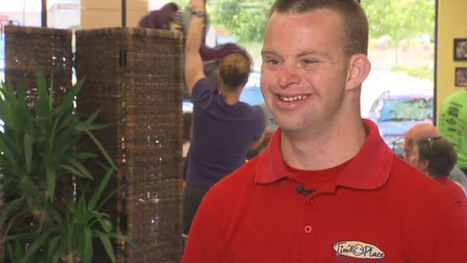 Meet Tim: 27-year-old restaurant owner with Down syndrome | Upwardly Mobile Restauranter | Scoop.it