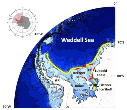 "Waking the giant: Global Warming in the Weddell Sea, Antarctica and sea level rise : Indybay | ""Environmental, Climate, Global warming, Oil, Trash, recycling, Green, Energy"" 