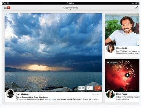 Google+ app for iPad available now in the App Store | Google + Project | Scoop.it