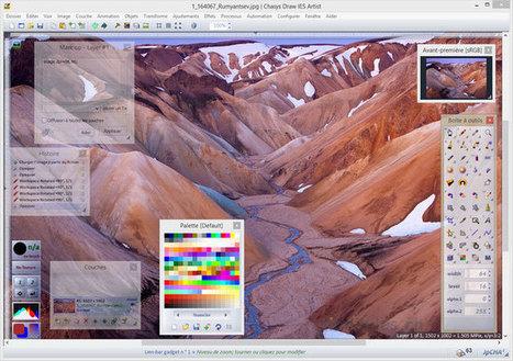 Chasys Draw IES - une suite graphique freeware | Photographie image | Scoop.it