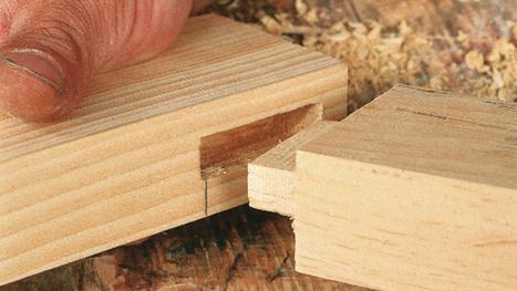 Assemblage tenon-mortaise - La Pièce en Bois | Quand débuter dans le travail du bois n'a jamais été aussi facile | Scoop.it