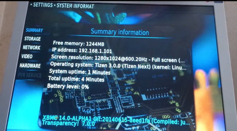 XBMC / Kodi 14 Ported to Tizen 3.0 Wayland | Embedded Systems News | Scoop.it