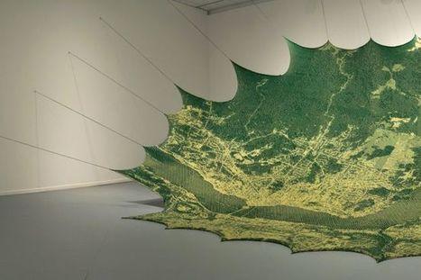 De la tapisserie à la cartographie tricot jacquard | Plusieurs idées pour la gestion d'une ville comme Namur | Scoop.it