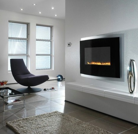 Fabulously Minimalist Fireplaces | Building(s) Homes & Cities | Scoop.it