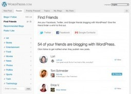 Find Friends Who UseWordPress   Internet Marketing Brain Candy   Scoop.it