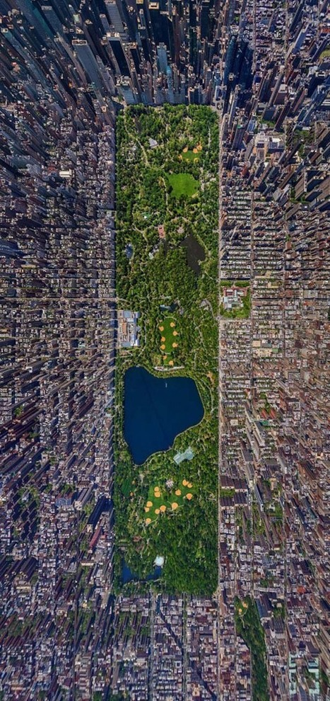 Seeing These Popular Places From Above Is Almost Surreal. #6 Seriously Shocked Me. | Photography | Scoop.it
