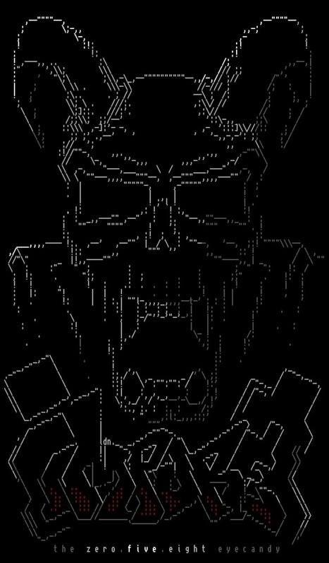 Grab the new impure pack with awesome<br/>Amiga ASCII as long as... | ASCII Art | Scoop.it