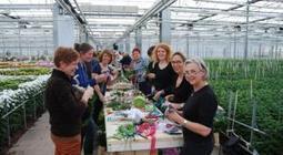 Workshop bruidswerk midden in de kas | Bloemenkrant.nl | Bloemenmeisje van amersfoort | Scoop.it