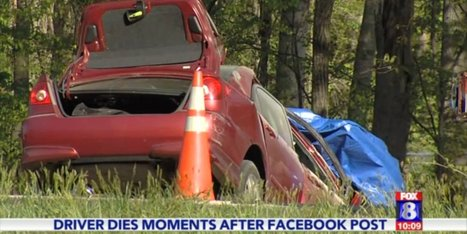 Distracted Driver Dies After Posting On Facebook About The Song 'Happy ... - Huffington Post | The Trinity of Social Media and How it Affects You | Scoop.it