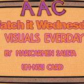 Watch it Wednesday: Visuals Everyday by Maricarmen Saleta | Communication and Autism | Scoop.it