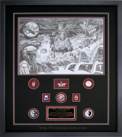 Gallery - Custom Framed Military Prints and Photos - Framed Guidons | Social Media Posting | Scoop.it