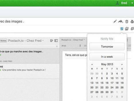 Evernote : un système de rappel sur iOS, OS X et sur la version web | Evernote, gestion de l'information numérique | Scoop.it