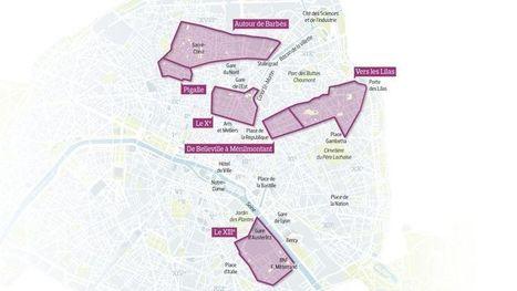 Paris prend ses nouveaux quartiers | Mobilier | Scoop.it
