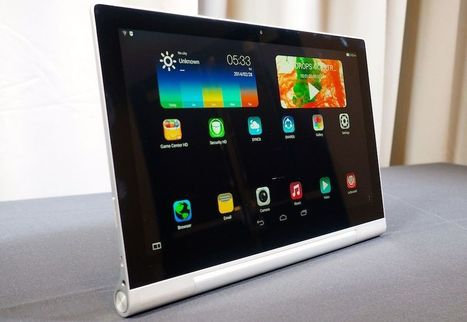 Lenovo's new 'Yoga' tablets run Android and Windows, one has a built-in projector | tech | Scoop.it