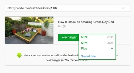 Youtube : Petite astuce pour télécharger simplement une vidéo   Ressources pour la Technologie au College   Scoop.it
