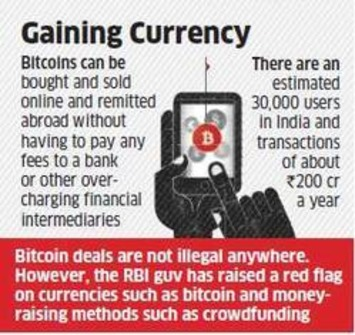 How virtual currency Bitcoin is gaining ground in India - Economic Times   money money money   Scoop.it