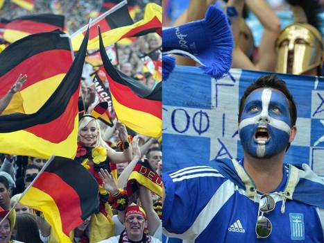 Germany v Greece: A real Euro stress test | travelling 2 Greece | Scoop.it