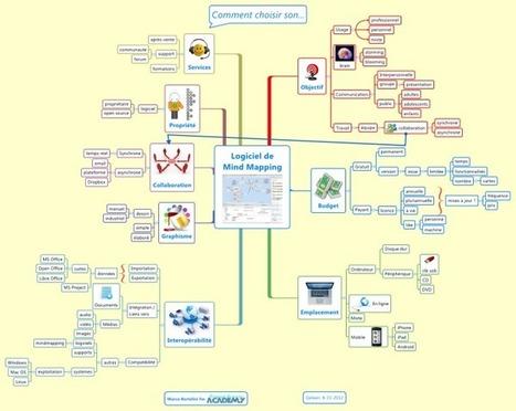 Logiciel de Mind Mapping esprit libre téléchargement de carte | Carte heuristique-carte mentale | Scoop.it