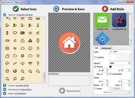 Iconion : Création d'icône gratuit | Outils | Scoop.it