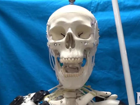 Filament 'muscle' drives skeleton robot | Une nouvelle civilisation de Robots | Scoop.it