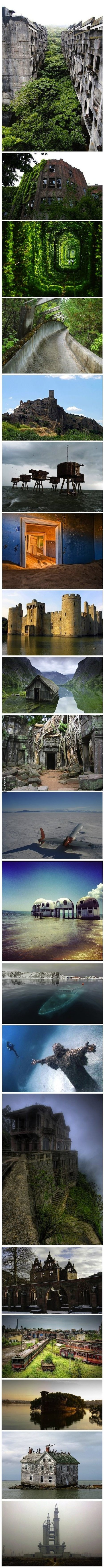 The 20 most awesome abandoned places | Modern Ruins, Decay and Urban Exploration | Scoop.it