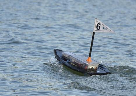 Projecto português mostra frota de robots aquáticos autónomos | Heron | Scoop.it