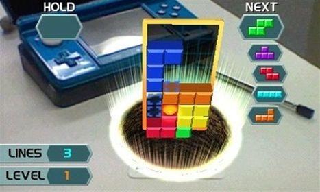 Vuelve el Tetris gracias a la realidad aumentada de la Nintendo 3DS | Realidad aumentada | Scoop.it