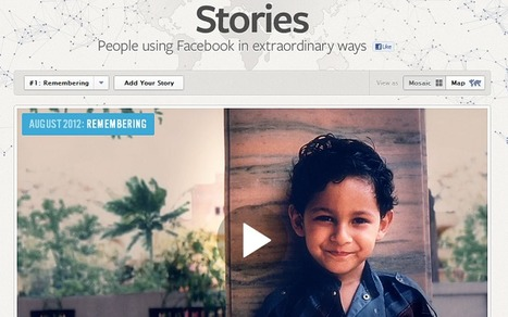 New 'Facebook Stories' Reveals Human Drama Within | Story and Narrative | Scoop.it