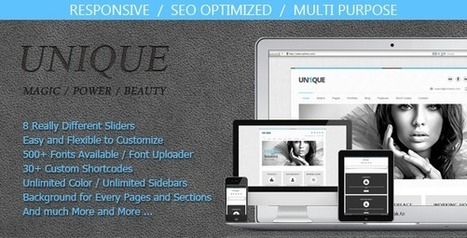 Unique - Magic / Power / Beauty | Latest Wordpress Themes | Scoop.it