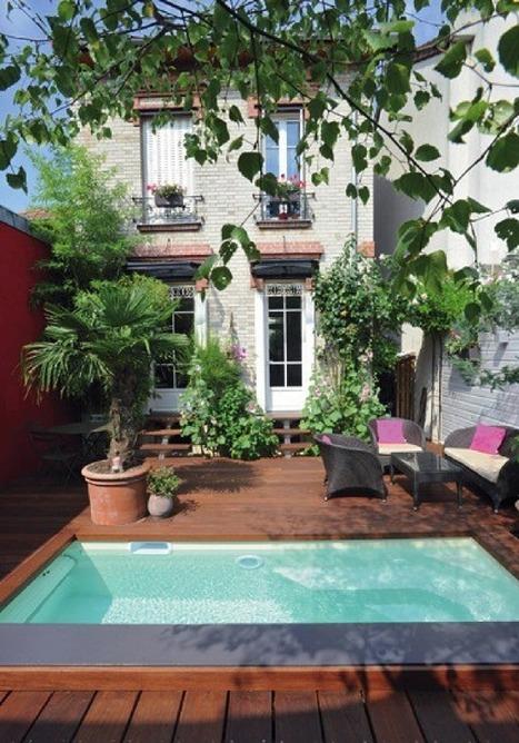 Cet hiver, on profite de son jardin grâce aux Piscines Caron !   Decocrush   décoration & déco   Scoop.it