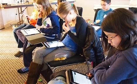 Ecole numérique: les élèves appelés à la rescousse | L'Hebdo | Innovation et éducation aux médias numériques | Scoop.it