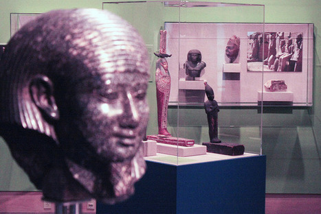 Egyptian exhibit shows once-hidden artifacts | AUDITORIA, mouseion Broadband | Scoop.it