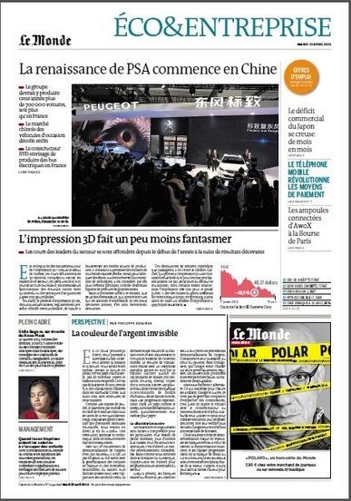 La guerre des porte-monnaie, dans « Le Monde » du 22 avril   Moyens de paiement   Scoop.it