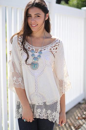crochet pullover | Online shopping store | Scoop.it