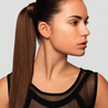 Clip on pony tail extensions