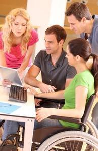 Rapprocher les jeunes handicapés du monde de l'entreprise   COURRIER CADRES.COM   Entreprise-Formation-Handicap   Scoop.it