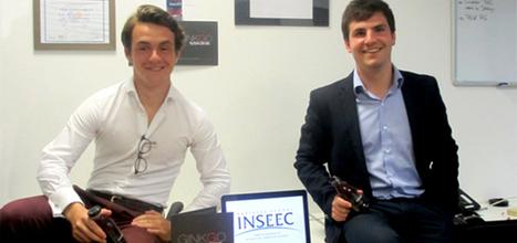 Entrepreneuriat : deux étudiants créent Ginkgo Sushi Drink - inseec | SUSHIJU | Scoop.it