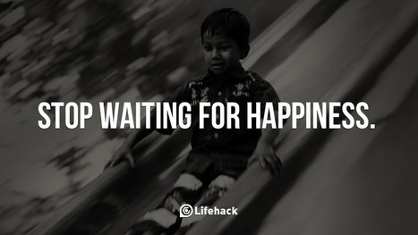 Stop Waiting for Happiness   Senior Seminar   Scoop.it