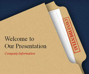 Confidential Powerpoint Template | financial statement | Scoop.it