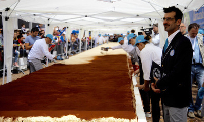 Italian town sets new Tiramisù record. If only I knew... | Italia Mia | Scoop.it
