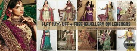 Exclusive Offer on Lehengas | Facebook | I don't do fashion, I am fashion | Scoop.it