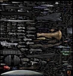 EPIC Starship Size Comparison Chart [Pic] | Star Trek est déjà là | Scoop.it