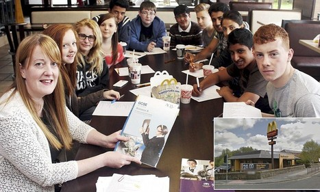 Biology teacher runs weekend revision sessions in McDonald's - Daily Mail | life is biology | Scoop.it