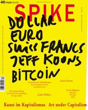 Spike Art Quarterly issue 40 out now | Art Agenda | art, etc. | Scoop.it